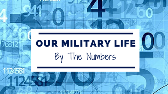 Our Military Life By The Numbers 052415