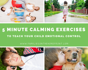 5-Minute Calming Exercises That Develop Emotional Control