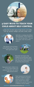 5 Easy Ways To Teach Your Child About Self-Control