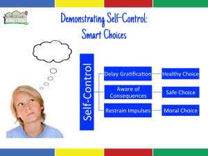 Demonstrating Self-Control Can Lead to Healthy, Safe, and Moral Choices