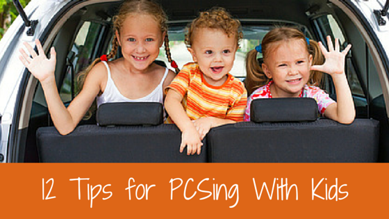 12 Tips for PCSing With Kids