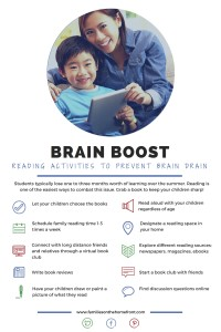 Avoid Brain Drain: Brain Boost Ideas For Summer Reading