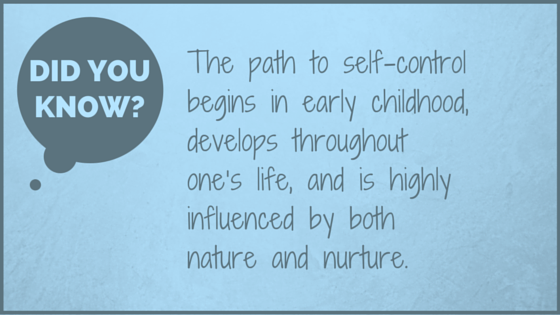 Did you know? Self-Control