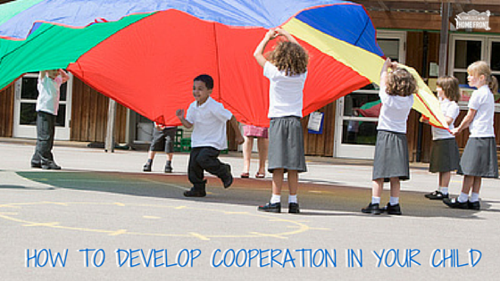 How To Develop Cooperation In Your Child